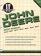 John Deere 655 755 756 855 856 955 Diesel Tractor Service Repair Workshop Manual