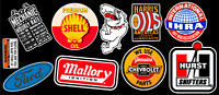 Motor Parts Vinyl Sticker Pack #3