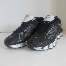 Nike SHOX TLX NZ Running Shoes BLACK SILVER WHITE Men Size 11