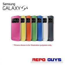 GENUINE Samsung Galaxy S4 Flip Cover (I9500): 1 x ORANGE