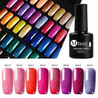 7ml MTSSII Starry Sky Glitter Sequins Nail Gel Polish Shiny Soak Off UV Manicure