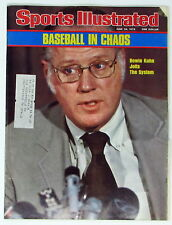 Sports Illustrated June 28, 1976 --  Bowie Kuhn -- Bowie Kuhn Jolts the System