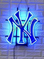 "New York Yankees Beer Light Lamp Neon Sign 18""x14"" with HD Vivid Printing"