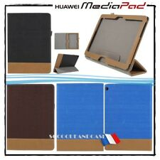 Etui Coque Housse Cuir PU Leather Case Cover Tablet Huawei MediaPad M3 Lite 10
