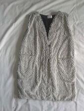 Gilet lungo Au Jour Le Jour in lana-eco fur