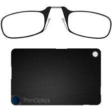 ThinOPTICS Fcb2.5blackisr Reading Glass With Flashcard Case Black