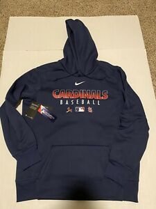 St. Louis Cardinals Nike Authentic Collection Hoodie 2020 Men's Size: Large NWT
