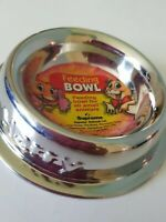 Supreme Hamster Small Animal Feeding Bowl Dish Stainless Steel Non Tip