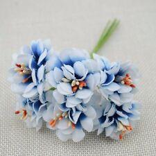6PC Fake Flower Silk Stamen Artificial Bouquet Wedding Decor DIY Wreath Craft HK