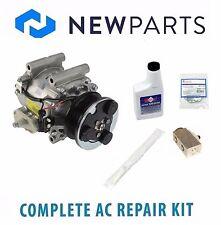 Jaguar S-Type 4.2L Complete AC A/C Repair Kit with NEW Compressor & Clutch