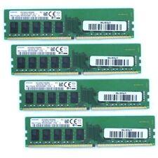 Neues Angebot4x Samsung 16GB DDR4 ECC 2666 MHz RAM Arbeitsspeicher CL19 64GB