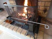 FLAMBADOU, FLAMBOIR A LARD,  barbecues, grillades (voir Livraison USA)