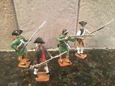 Toy Soldiers 4 METAL 54mm AWI Colonial Militiamen