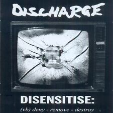 DISCHARGE - Disensitise CD (Peaceville, 2009) *cult UK Crust *sealed