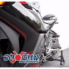 Yamaha 2015-17 YZF-R3 Shogun Frame Sliders No Cut Version Black