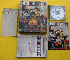 MechWarrior 3 for Windows PC in Big Box (1999 Mech Warrior)