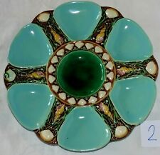 Minton Majolica oysters plate  N°2