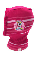 Einhorn Unicorn Kinder Mädchen Winter-Mütze Schlupfmütze Schalmütze