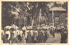 POSTCARD   INDONESIA    BALI     Temple  Parade