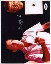 CHRISTOPHER LEE PSA DNA Coa Hand Signed 8X10 Photo Autograph Authenticated
