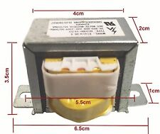 220V Input 10.5VA Output 60Hz EI Ferrite Core Vertical Mount Power Transformer