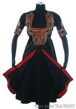 ANTIQUE Ottoman Folk Costume embroidered ethnic dress Macedonian Bulgaria Serbia