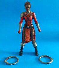 MARVEL LEGENDS BLACK PANTHER NAKIA BAF OKOYE 6 IN. LOOSE COMPLETE