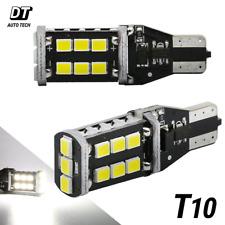 T10 168 921 912 LED 6000K White Backup Reverse 3rd Brake License Light Bulbs