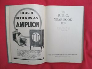 The BBC Year Book 1930 - Great Adverts