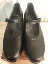 EUC RARE SAS Maria Tripad Comfort Black Leather USA  Mary Janes Womens US 9N
