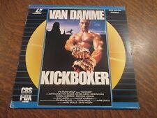 laserdisc kickboxer avec van damme