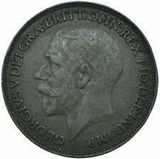 1924 ONE FARTHING GB UK KING GEORGE V.    #WT22402