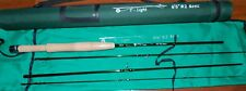 2WT V-Light Fly Fishing Rod 6 1/2 Ft  4 Sec.with Rod Tube   FREE 3 DAY SHIPPING