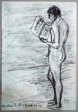 Supporto Biglietti giovane Nudist corpo libero cultura 1923 Carbone, Richard Pietzsch