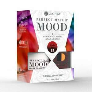 Lechat Perfect Match Mood Changing Color Matching Gel Polish & Nail Lacquer