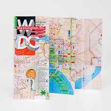 Map Laminated Washington DC [Best Seller]