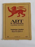 Art in Australia Quarterley - Dec 1929 3rd Series  No 30, Tasmanian edition