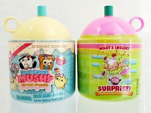 Lot of 2 Smooshy Mushy Do-Dat Donuts Scented Surprises Series 2 and Series 1