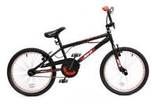"XN-7-20 Bicicletta BMX Da Uomo Ragazzi Freestyle BMX Stunt per adulti 20"" ruote a razze Giroscopio Nero"