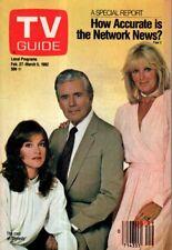 1982 TV Guide February 27-Pamela Sue Martin of Dynasty; Roy Acuff; Life on Earth