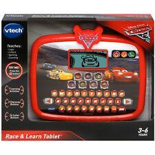 Lightning Mcqueen VTech Disney Pixar Cars 3 Race Learn Tablet Ages 3+ Toy School