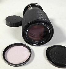 RMC Tokina SLR Camera Lens 80-200mm 1:4.5  OLYMPUS Camera Mount w Skylight