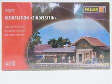 """Lot 11026   Faller ho 110092 Klein estación """"zindelstein"""" estación kit nuevo embalaje original"""