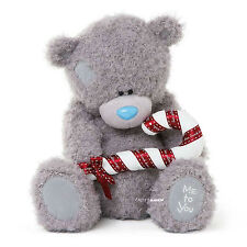 "CARTE Blanche Me to You Tatty Teddy Bear Christmas With Candy Cane 20"" 51cm"