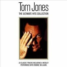TOM JONES - ULTIMATE HIT COLLECTION (NEW CD)