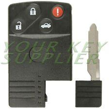New Replacement 4 Button Shell For Mazda Smart Card BGBX1T458SKE11A01 w/Out Chip