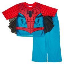 Marvel Comics Spider-Man Cape Toddler Boy's Two-Piece Pajamas Set Size 2T New