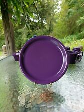 "DINNER bistro PLATE mulberry purple HOMER LAUGHLIN FIESTA WARE 10.5"" new"
