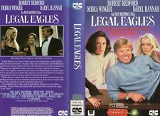 LEGAL EAGLES - Robert Redford -VHS -PAL -NEW -Never played! -Original Oz release