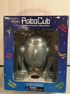 Sharper Image Robotics Robo Cub Remote-Controlled Talking Robot New in Box